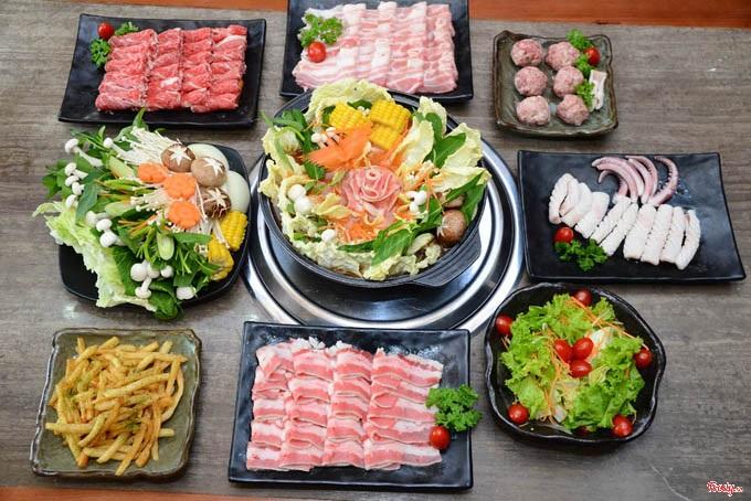 Buffet Lẩu Nướng Sashimi BBQ