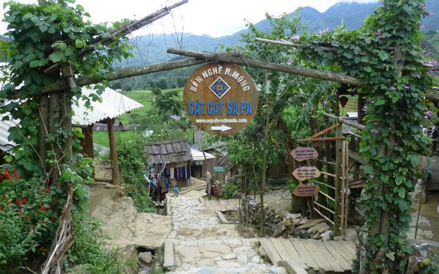 Bản Cát Cát Sa Pa Lào Cai
