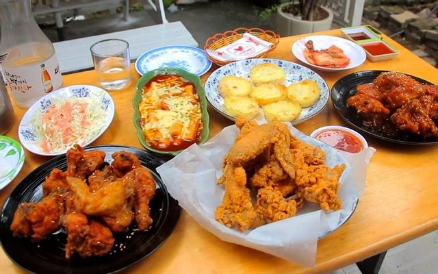 Gà Cơm Nướng - Nhà Hàng Hàn Quốc