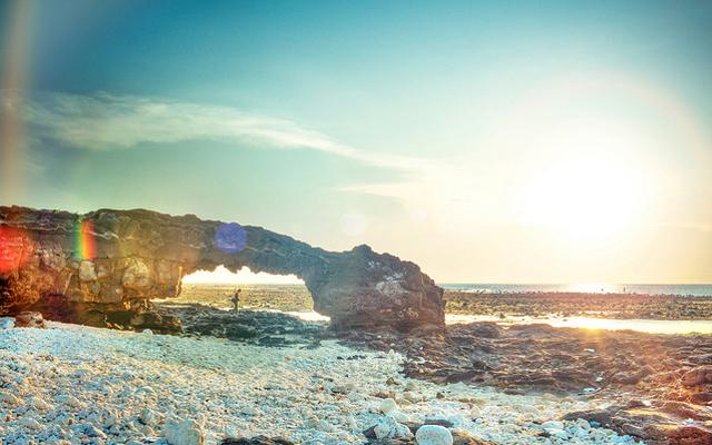 Đảo Lý Sơn ở Quảng Ngãi