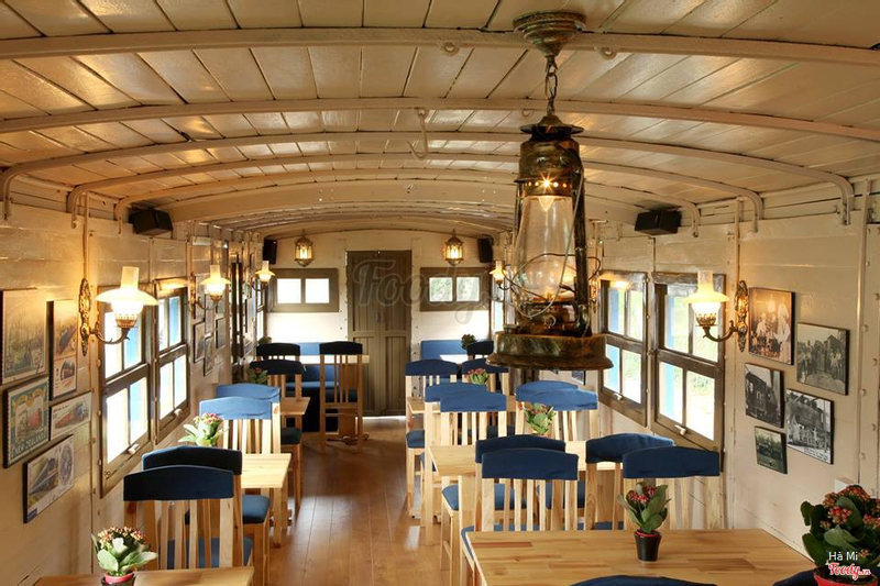 Image result for Dalat Train Café foody
