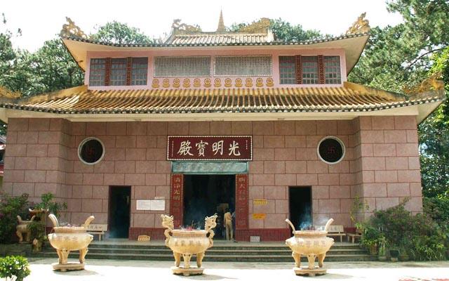 Chùa Thiên Vương Cổ Sát - Khe Sanh ở Lâm Đồng