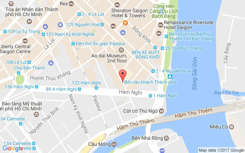 Bản đồ - Chanh Bistro Rooftop - Nhà Hàng Món Âu