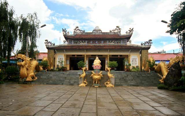 Chùa Linh Quang - Hai Bà Trưng ở Lâm Đồng