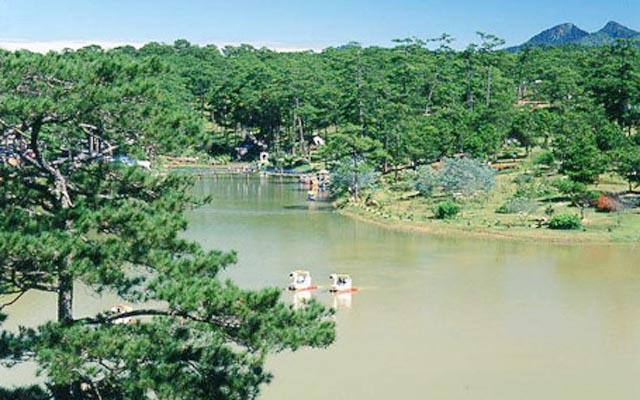 Hồ Than Thở Đà Lạt - Quang Trung ở Lâm Đồng