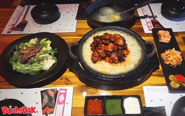 Boom Dak - Nhà Hàng Ẩm Thực Gà Hàn Quốc