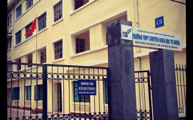 Trường THPT Chuyên Khoa Học Tự Nhiên - Lương Thế Vinh ở Hà Nội