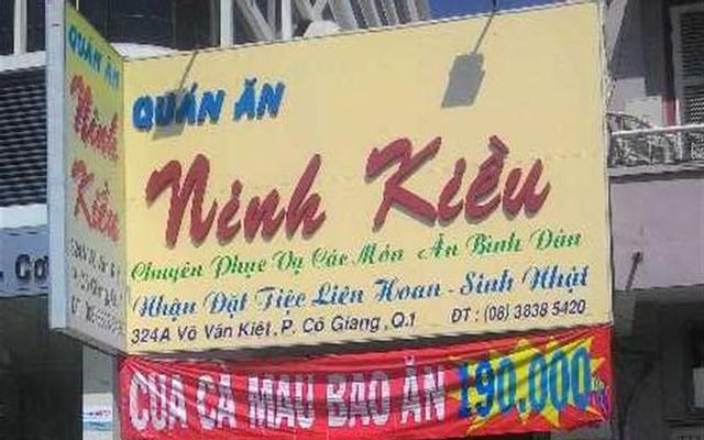 Quán Ăn Ninh Kiều - Võ Văn Kiệt ở TP. HCM