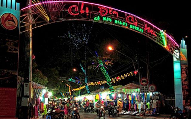 Chợ Đêm Cà Mau - An Dương Vương ở Cà Mau