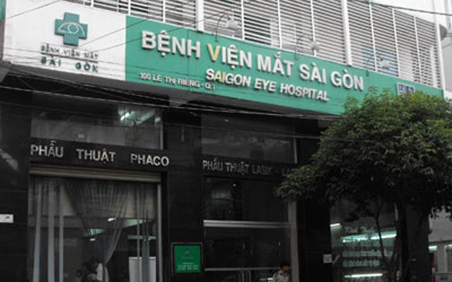 Bệnh Viện Mắt Sài Gòn - Lê Thị Riêng ở TP. HCM