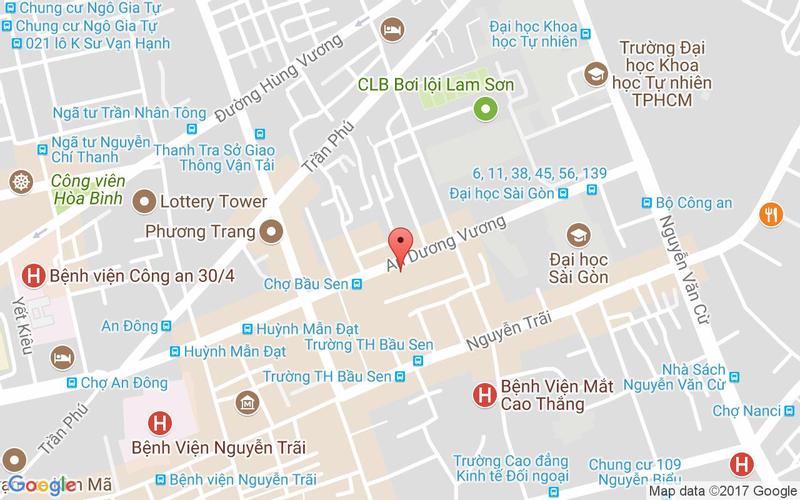 Bản đồ - Nhà Hàng Thiên Phước - Dimsum & Hải Sản