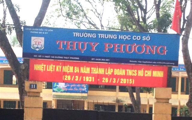 Trường Trung Học Cơ Sở Thụy Phương - Thụy Phương ở Hà Nội