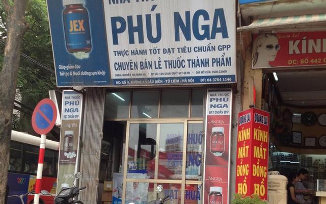 Nhà Thuốc Phú Nga - Hoàng Công Chất ở Hà Nội