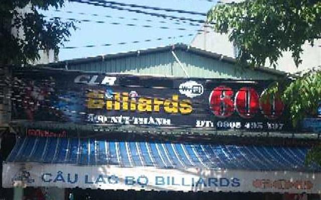 Câu Lạc Bộ Billiards 600 - Núi Thành ở Đà Nẵng