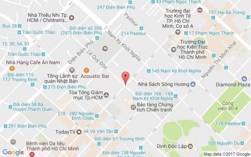 Bản đồ - Yen Sushi & Sake Pub - Lê Quý Đôn