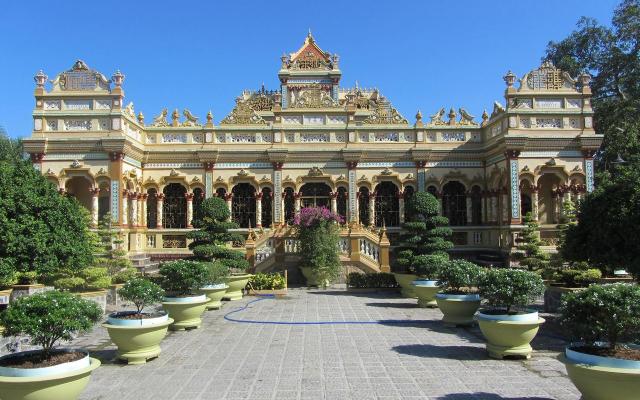 Chùa Vĩnh Tràng - Nguyễn Trung Trực ở Tiền Giang