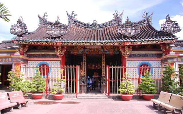 Chùa Kiến An Cung - Phan Bội Châu ở Đồng Tháp