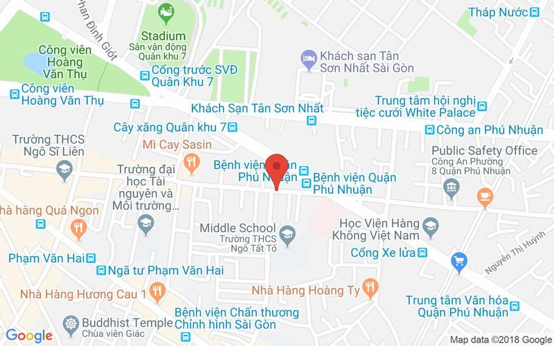Bản đồ - Aqua Spa - Nguyễn Trọng Tuyển