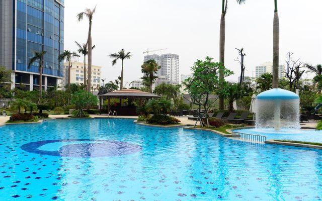 Garden Pool - Keangnam Landmark ở Hà Nội