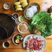 Buffet lẩu rau + set thịt ăn kèm