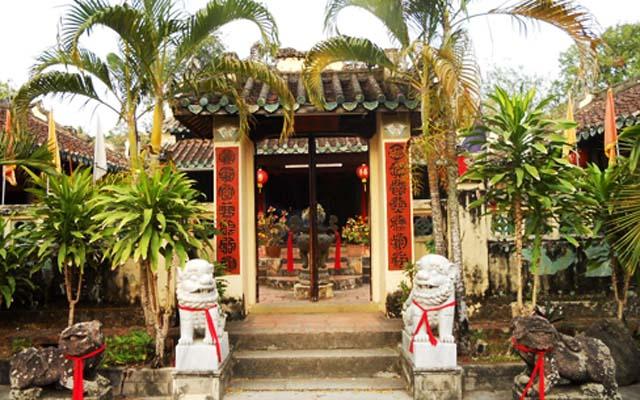 Khu Di Tích Lăng Mạc Cửu ở Kiên Giang