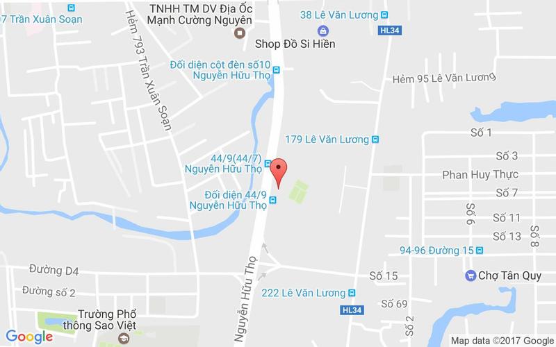 Bản đồ - Geylang@Saigon - Nguyễn Hữu Thọ