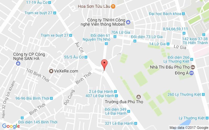 Bản đồ - The Pizza Company - Lê Đại Hành