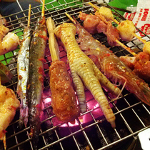 Happy BBQ 4 Xiên Nướng Đồng Giá 5K - Tạ Quang Bửu