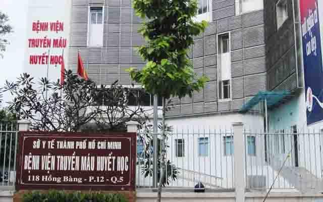 Bệnh Viện Truyền Máu Huyết Học - Hồng Bàng ở TP. HCM