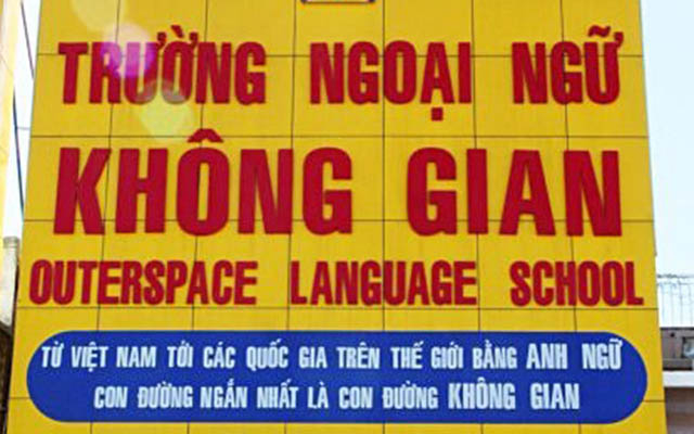 Trường Ngoại Ngữ Không Gian - Hoàng Quốc Việt ở TP. HCM