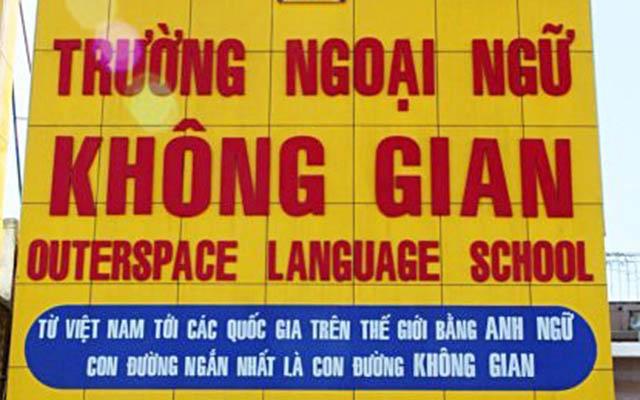Trường Ngoại Ngữ Không Gian - Quang Trung ở TP. HCM
