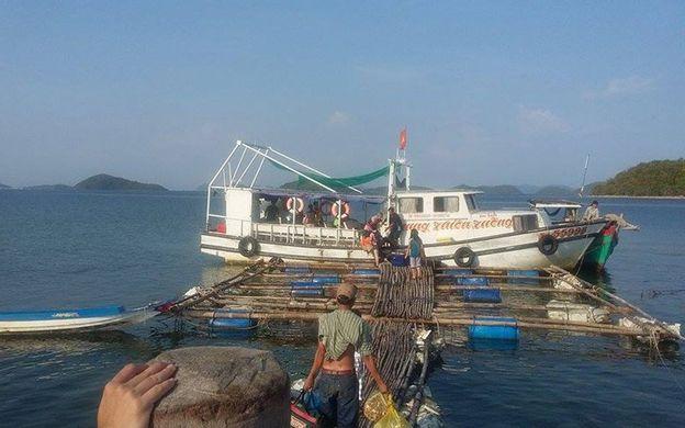 Hòn Bờ Đập. Quần Đảo Bà Lụa, Xã Sơn Hải Kiên Lương Kiên Giang