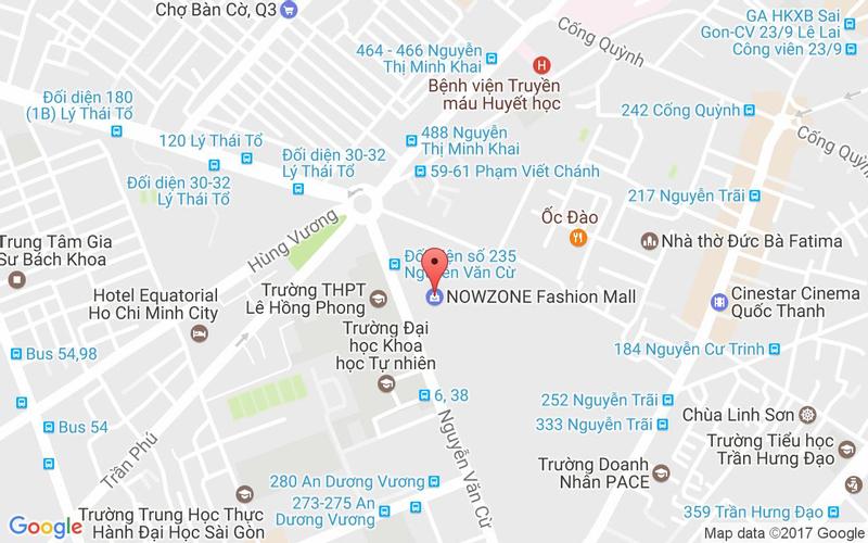 Bản đồ - Tokyo Ginza Koma - Buffet Băng Chuyền