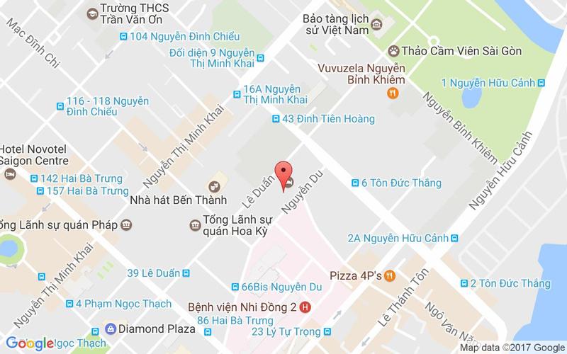 Bản đồ - Mezz - Buffet Tương Tác - Sofitel Saigon Plaza