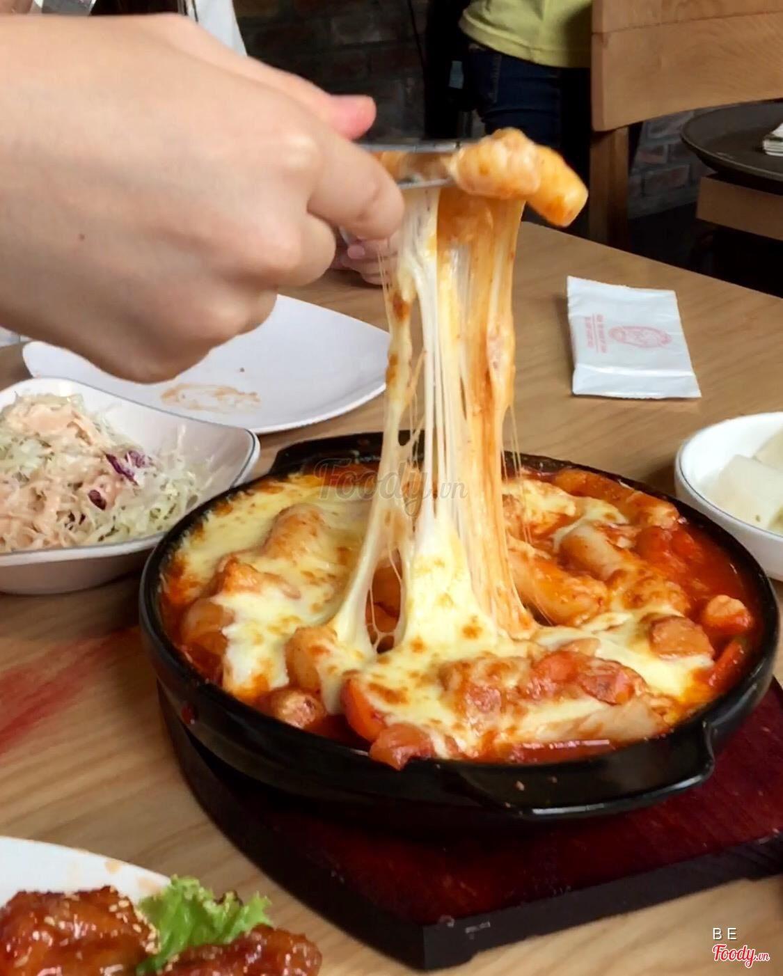 Tokkboki cheese