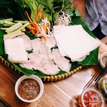 Tứ Hòa - Bánh Tráng Cuốn Thịt Heo