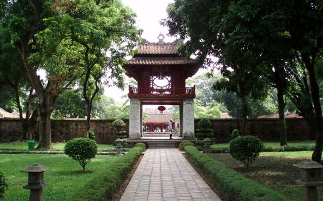 Văn Miếu Quốc Tử Giám ở Hà Nội