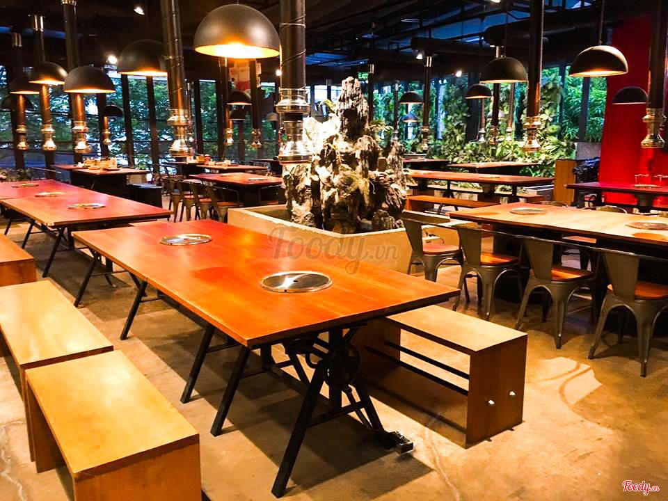 buffet trưa ngon, rẻ ở Hà Nội_Buk Buk