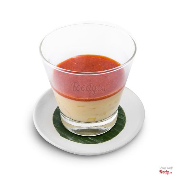 banh-pudding-xoai-sot-dau