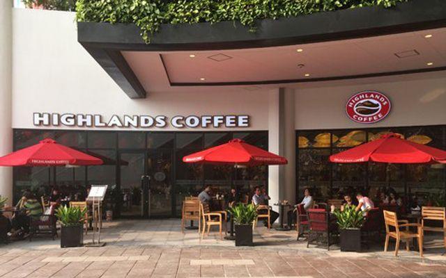 Highlands Coffee - AEON Mall Long Biên ở Hà Nội
