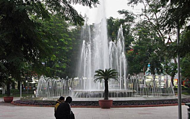 Vườn Hoa Nguyễn Văn Trỗi ở Hải Phòng