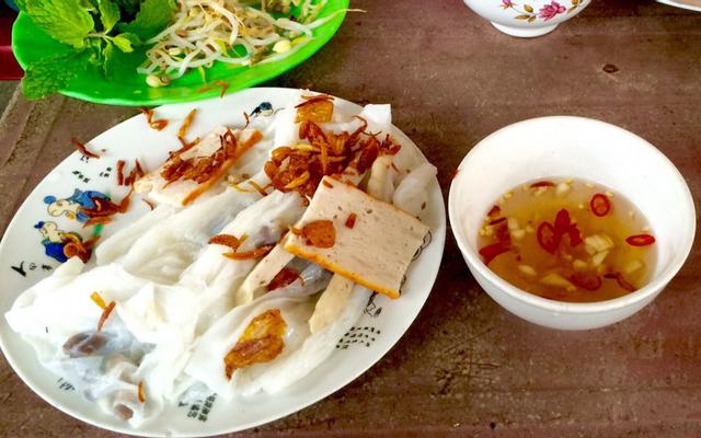 Bánh Cuốn Nóng Duy Tân ở Huế