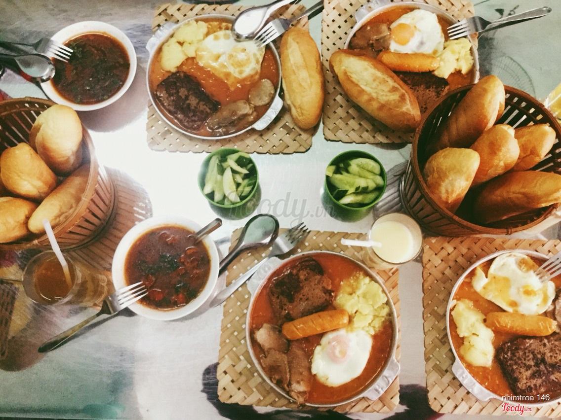 Kết quả hình ảnh cho Bánh mì chảo Cột Điện quán