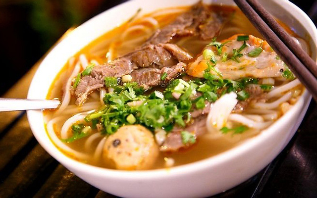 Bún Bò Hồng ở Lâm Đồng