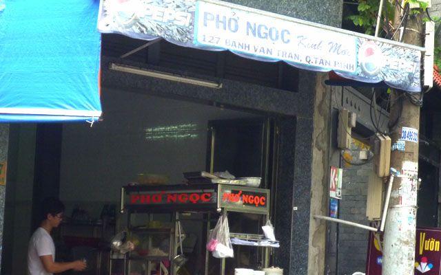 Phở Ngọc - Bành Văn Trân ở TP. HCM