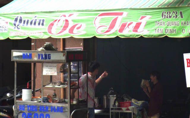 Ốc Trí - Trần Quang Khải ở TP. HCM