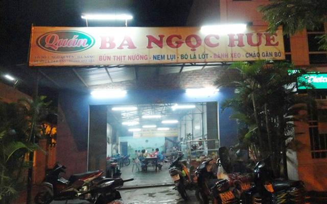 Quán Bà Ngọc Huế ở Đà Nẵng