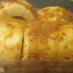 Bánh ngon~~ Bông lan mềm mịn, ruốc được khá nhiều, nhưng không nên ăn thừa để tủ lạnh, cái sốt đông lại như ăn cục mỡ vậy :(