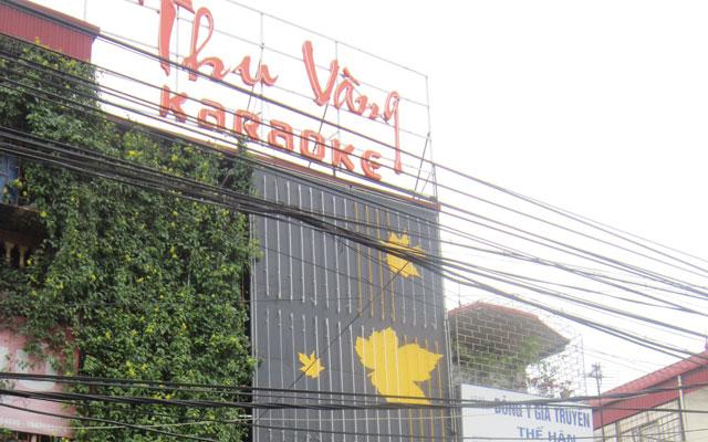 Karaoke Thu Vàng ở Hà Nội