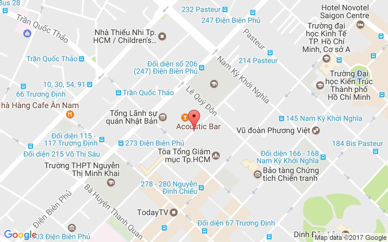 Bản đồ - Rico Taco - Mexican Restaurant